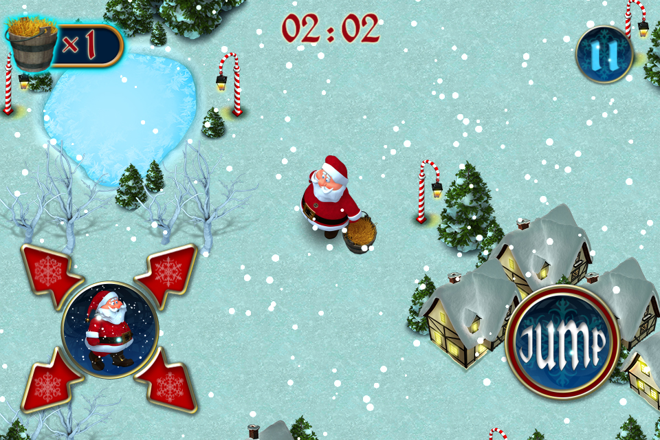 Screenshot Santa's Reindeer Hunt – Mega 3D Christmas Maze